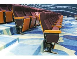 云南某学校礼堂椅LY-6324图片