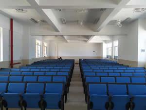 从化阶梯排椅 中山大学南方学院附属小学多功能会议室图片