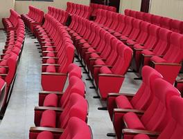 广西百色五中礼堂椅子