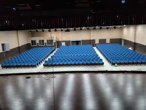 赣南师范大学音乐学院礼堂椅案例图片