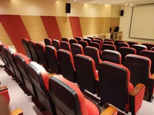 广西某学校礼堂椅图片