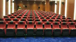 广州索菲亚总部礼堂椅制作图片
