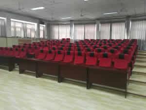 河北沧州某小学礼堂椅案例图片