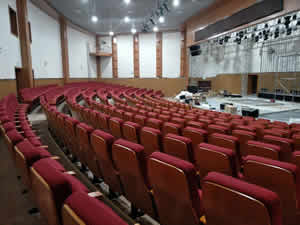 湖南师范学院礼堂椅系列图片
