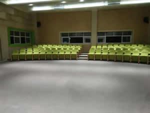 南海区灯湖小学礼堂椅图片