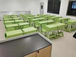 学生课桌椅LY-8018图片